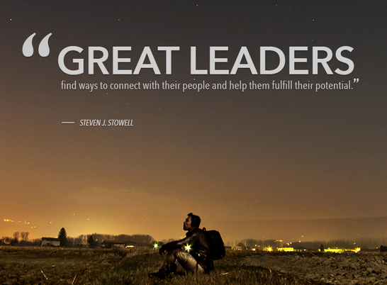 Tracy LeRoux - On Great Leaders